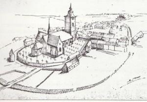 Eglise Saint-Etienne 1750