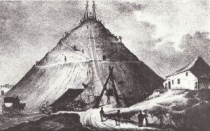 La butte du Lion, dit de Waterloo